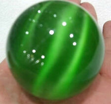 About 40mm Green Mexican Opal Sphere,Crystal Ball/ Gemstone+Bracket