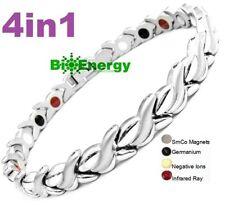 Magnetic Magnet Fir Energy Germanium Power Bracelet Health 5in1 Bio Armband Cuff