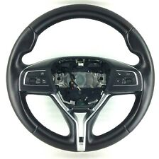 Genuine Maserati Ghibli M157 Paddle shift black leather MFSW steering wheel.  1A