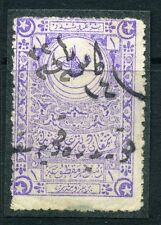 TURKEY;   1900s early classic Fiscal/Revenue issue fine used 1Pi. value
