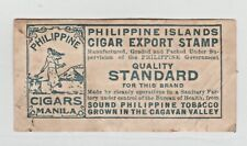 Philippines Revenue Fiscal Stamp 12-7- taxpaid as seen