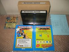 MUTATION NATION NEO GEO MVS FULL KIT 100% ORIGINAL SNK! (NOT FOR CONSOLE)