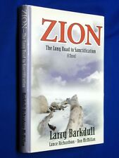 SIGNED Zion Long Road Sanctification Barkdull 1st Ed HCDJ Hardcover Mormon LDS