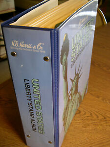 1847-1984 Mint/Used collection in Harris Liberty album + Revenue,Possessions GZ8