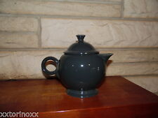 Fiesta Large Teapot in Slate  NEW Never Used Fiestaware