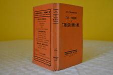 ETAT PRESENT DU TRANSFORMISME - JEAN ROSTAND - 1931 - Exemplaire N° 1