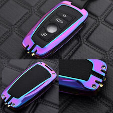 Colorful Key Fob Cover Metal Protector For BMW 1 2 3 4 5 6 7 Series X1 X3 X4