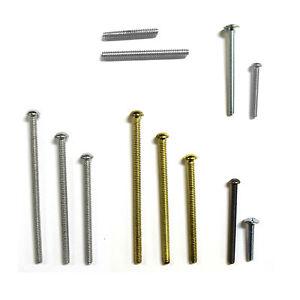Pushka Home Additional Screw(s) For Cupboard Door Knobs Ceramic Crystal Granite