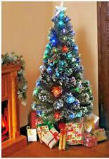 Alberi di Natale con fibre ottiche