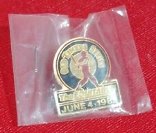 June 4, 1989 Old Timers Series  The Equitable Lapel Pin *MINT*