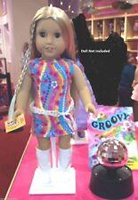 American Girl Julie's Dance Set LE NIB Mirrored Disco Ball School NO DOLL LE