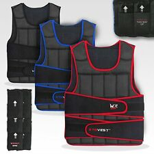 We R Sports XTR Weight Weighted Vest Adjustable 5kg To 30kg Running Weight Loss