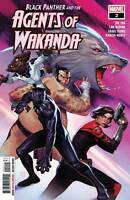 Black Panther and Agents of Wakanda #2 (2019 Marvel) Molina First Print
