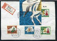 Berlin Nr: 269 mit Plattenfehler I auf Brieffront - im Michel ohne Preis