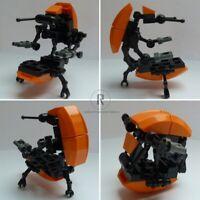Star Wars Figur aus LEGO® Teilen Droideka Destroyer Battle Droid D16 orange NEU