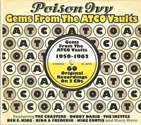 POISON IVY GEMS FROM THE ATCO VAULTS 1959 - 1962 - 3 CD BOX SET