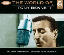 The World Of Tony Bennett Songs 2 CD 1950s Music