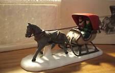 1988 - Dept 56 - Heritage Village - One Horse Open Sleigh