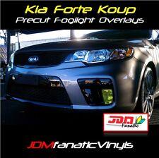 Forte Koup Coupe Fog light Rally EDM JDM Yellow TINT Overlays vinyl film Kit
