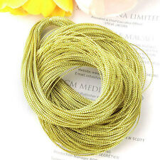 100 Yards Golden Jewelry Making String Cord DIY Multi-Purpose Craft Supplies NEW