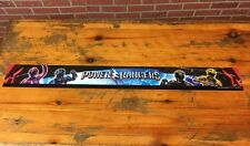 Huge Sabans Power Rangers Display Sign TOYS R' US 48 Inches Banner Poster Rare
