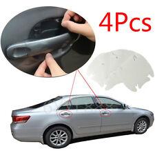 Invisible Clear Car Door Handle Paint Scratch Protector Guard Film Sheet 4pcs
