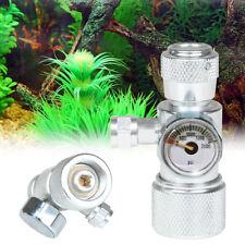 Co2 Adaptateur Aquarium Pression CO2 Réducteur Régulateur Manomètre Aluminium