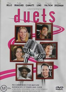 DUETS  DVD      Region 4    Maria Bello, Andre Braugher, Gwyneth Paltrow (2720)