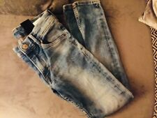 SIZE 7-8 YEARS SUPER SKINNY FIT H&M BOYS RIPPED JEANS