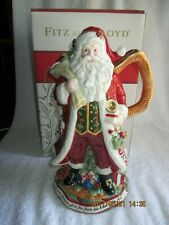 "Collectibles Fitz & Floyd Night Before Christmas 13"" Pitcher 2015 New in Box"