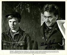 BEN JOHNSON Signed Scene - THE LAST PICTURE SHOW