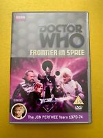 Doctor Who - Frontier In Space DVD - 2 Disc Special Edition - Jon Pertwee