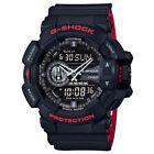Casio G-Shock GA-400HR-1A Black on Red Dual Colour Men's Digital Sports Watch