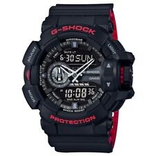 Casio G-Shock GA-400HR-1A Black on Red Dual Colour Men's Digital Sports Watch