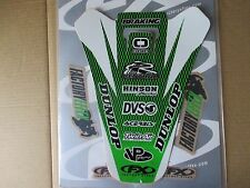 FX  rear fender graphics Kawasaki KX125 KX250 1999 2000 2001 2002