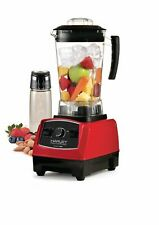 New Salton BL1486RBT Harley Pasternak Professional RED Power Blender puree chop