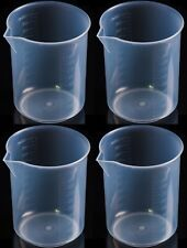 Plastic Graduated Beaker With Spout 1000 Ml Set Of 4