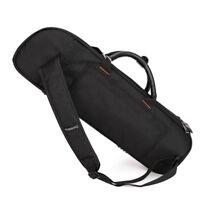 Bb Trumpet Carry Bag Trumpet Gig Bag Padded Bag for Trumpet Lovers Black