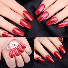 Red Mirror Nail Glitter Powder  Chrome Pigments Decoration Born Pretty