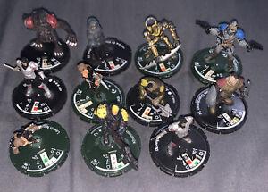 Lot Of (11)D&D Wizkids Figures Dungeons & Dragons Minis