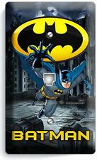 BATMAN FOREVER SUPERHERO PHONE JACK TELEPHONE WALL PLATE COVER BOYS BEDROOM ART