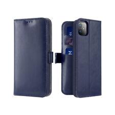 Dux Ducis Kado Book-Wallet Kartenfach Flip Tasche Schutzh iPhone 11 Pro Max blau