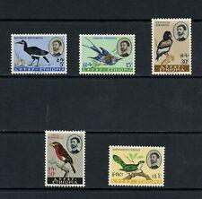 S400  Ethiopia  1962   birds   5v.     MNH