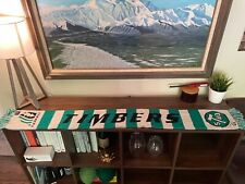 Portland Timbers Scarf Retro Throwback 1970s Colors and Logo