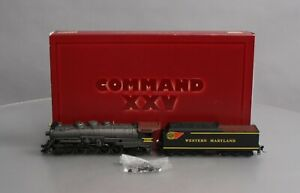 IHC 23417 HO Scale Western Maryland 2-10-2 Steam Locomotive & Tender LN/Box