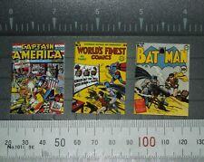 1/6 Scale Comics - Set of 3 World War 2 Era Covers: Batman Capt America Superman