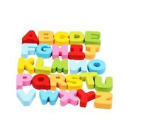 New Wooden Number Letter Puzzle Jigsaw Early Learning Baby Kids Educational Toys