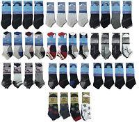 3/6/12 Pairs Men's Trainer Liner Ankle Socks Cotton Socks Mens lot Size 6-11