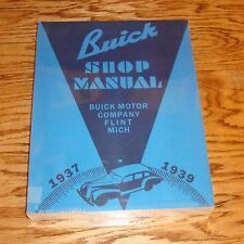 1937 1938 1939 Buick Shop Service Manual 37 38 39