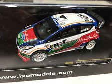 FORD FIESTA WRC SIMONCELLI UK KIRKBRIDE 2011 IXO RALLY 1:43 DIECAST-CAR- RAM463
